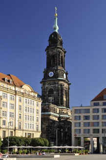Germany, Dresden, Church of the Holy Cross at Altmarkt - BT00473