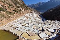 Peru, Andes, Maras, salt ponds - FOF08706