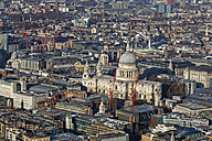 UK, London, St Paul's Cathedral as seen from The Shard - GFF00918