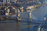 UK, London, River Thames and Tower Bridge - GFF00930