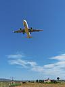 Spain, Palma de Mallorca, landing jet - AMF05206