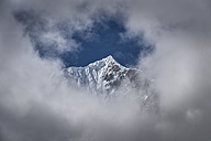 Nepal, Himalaya, Khumbu, Everest region, Thanna Bhanjyang - ALRF00814