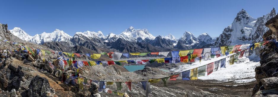 Nepal, Himalaya, Khumbu, Everest region, Renjo La, Everest range - ALRF00835