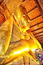Thailand, Bangkok, reclining Buddha at War Pho temple - DSG01422