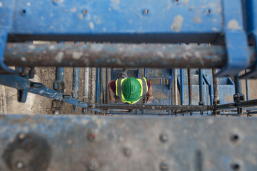 Construction worker on a construction site - ZEF12470