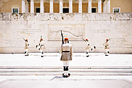 Greece, Athens, Changing of Guards in front of the Hellenic Parliament in Syntagma Square - GEM01434