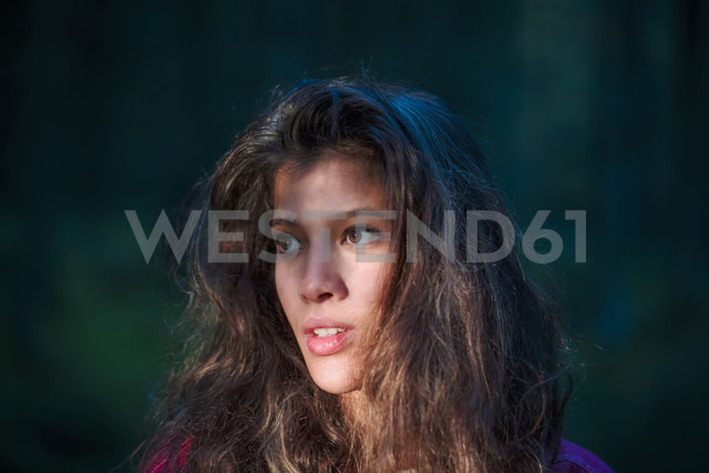 Portrait of young woman in the woods - WVF00817 - Valentin Weinhäupl/Westend61