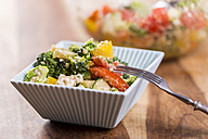 Bowl of mixed raw salad - JUNF00793