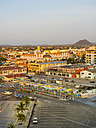 Aruba, Oranjestad, view to the city from above - AMF05219