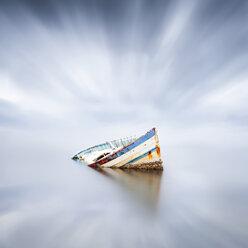 France, Occitanie, Leucate, wrecked ship - XCF00127