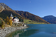 Italy, Alto Adige, Castelletto at Reschensee, Schloessel - LB01539