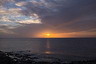 Spain, Tenerife, sea at sunset - SIPF01397