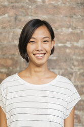 Portrait of smiling young woman - ALBF00087