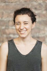 Portrait of laughing young woman - ALBF00090