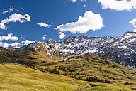 Italy, South Tyrol, Seiser Alm, Rosszaehne - EGBF00209