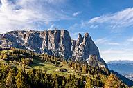 Italy, South Tyrol, Seiser Alm, Schlern - EGBF00215