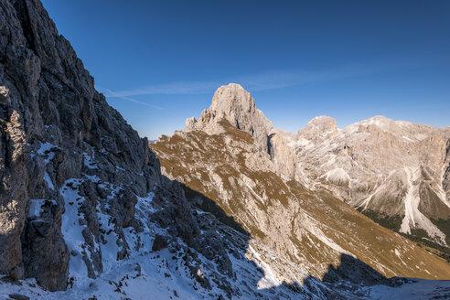 Italy, South Tyrol, Rosengarten, Tschagerjoch - EGBF00221