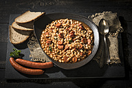 Plate of bean goulash with Debrecener - MAEF12121