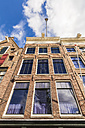 Netherlands, Amsterdam, facade of Anne Frank House at Prinsengracht - WD03871