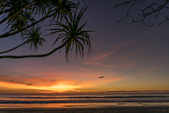 Myanmar, sunset at beach of Ngwesaung - PCF00330