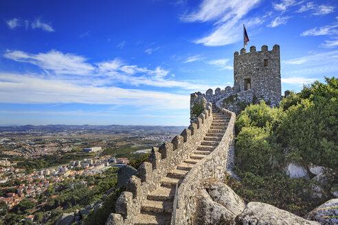 Portugal, Sintra, Castelo dos Mouros - VT00583