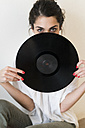 Woman with record - KKAF00398