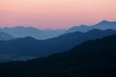 Austria, Mondsee, Mondseeberg, scenic at dusk - WVF00849