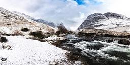 UK, Scotland, Glen Etive, River Etive - SMAF00663