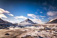 UK, Scotland, Glencoe, Buachaille Etive Mor in winter - SMAF00681