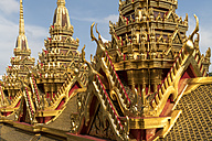 Thailand, Bangkok, Chedi of Wat Ratchanatdaram - PCF00332