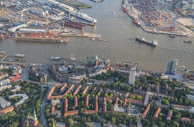 Germany, Hamburg, aerial view of Altona - PVCF01008