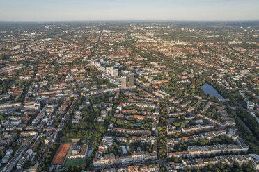 Germany, Hamburg, aerial view of Uhlenhorst - PVCF01017