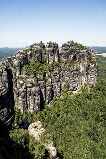 Germany, Saxony, Saxon Switzerland National Park, Schrammsteine - LMF00602