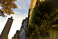 Germany, Rothenburg ob der Tauber, houses and tower - FDF00215