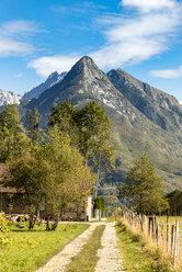 Slovenia, Bovec, hiking trail at Kanin Valley - CSTF01253