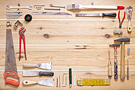 Various tools on wood - CMF00644