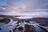 Iceland, landscape at twilight - EPF00342