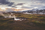 Iceland, landscape at twilight - EPF00345