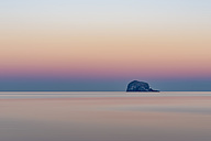 UK, Scotland, Bass Rock, sunset - SMAF00689