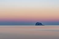 UK, Scotland, Bass Rock, sunset - SMAF00689
