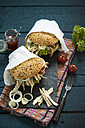 Pulled chicken burger - MAEF12168