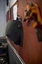Welding mask in workshop - ZEF13038