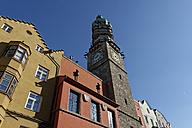 Austria, Tyrol, Innsbruck, Stadtturm - LBF01575