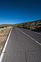Spain, Tenerife, empty road in El Teide region - SIPF01428