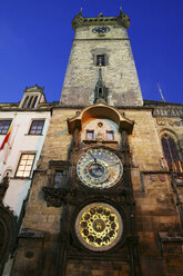 Czechia, Prague, town hall tower with astronomical clock - DSGF01516