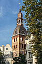 Latvia, Riga, bell tower of the cathedral - CSTF01318