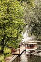 Latvia, Riga, Kronvalda Park at city canal - CSTF01327