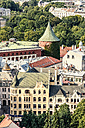 Latvia, Riga, view on the old town with powder magazine - CSTF01330
