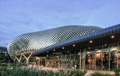 Singapore, Esplanade Theatres on the Bay - EA00013