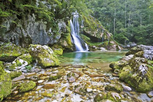 Slovenia, Primorska, Bovec, Boka Falls - FPF00127